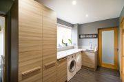 Фото 14 Встроенная стиральная машина на кухне: советы по выбору и 60+ оптимальных вариантов размещения