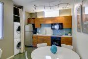 Фото 20 Встроенная стиральная машина на кухне: советы по выбору и 60+ оптимальных вариантов размещения