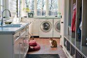 Фото 24 Встроенная стиральная машина на кухне: советы по выбору и 60+ оптимальных вариантов размещения