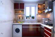 Фото 25 Встроенная стиральная машина на кухне: советы по выбору и 60+ оптимальных вариантов размещения