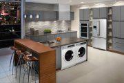 Фото 1 Встроенная стиральная машина на кухне: советы по выбору и 60+ оптимальных вариантов размещения