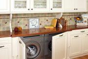 Фото 29 Встроенная стиральная машина на кухне: советы по выбору и 60+ оптимальных вариантов размещения