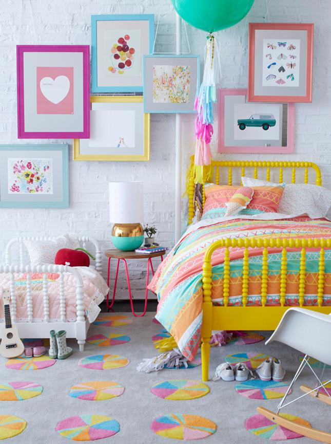 Дети разного возраста могут прекрасно расположиться в одной комнате