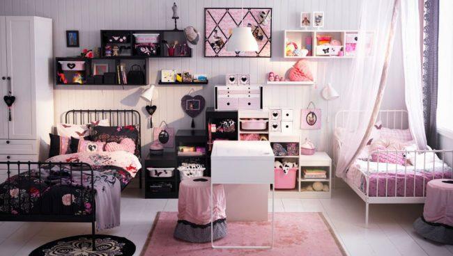 Вкус и возраст ребенка влияет на оформление его личного пространства в комнате