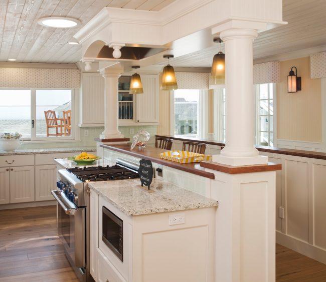 Дизайн кухни 6 метров с холодильником: фото. В наше время дизайнеры кухонных принадлежностей с учетом потребностей маленьких кухонь создают множество разновидностей оригинальной и удобной техники