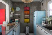 Фото 12 Дизайн кухни площадью 6 кв. м с холодильником: как оптимизировать пространство и 70 функциональных идей