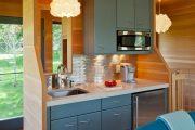 Фото 26 Дизайн кухни площадью 6 кв. м с холодильником: как оптимизировать пространство и 70 функциональных идей