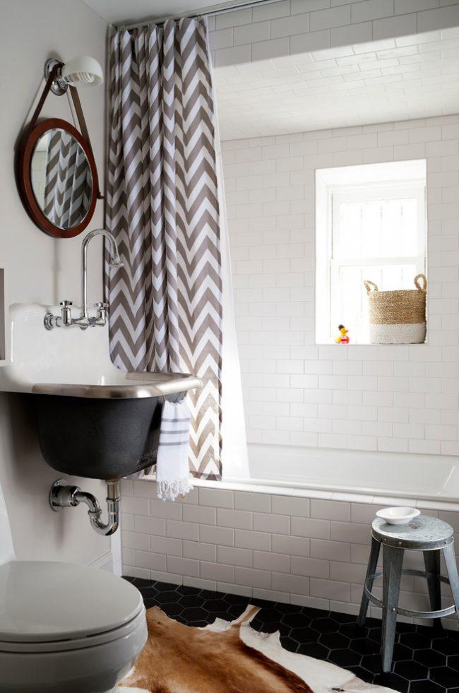 Компактная ванная комната 4 кв.м