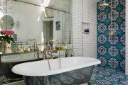 Фото 17 Дизайн-проекты ванных комнат: обзор стильных вариантов санузла и полезные советы дизайнеров