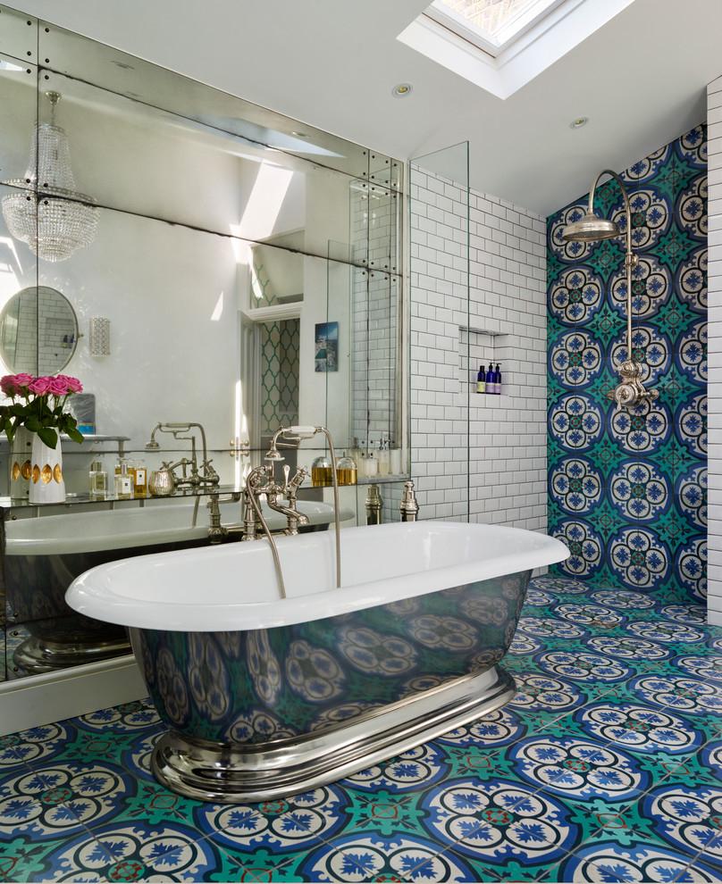 Дизайн ванной в средиземноморском стиле