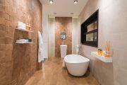 Фото 31 Дизайн-проекты ванных комнат: обзор стильных вариантов санузла и полезные советы дизайнеров