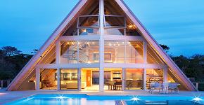 Дом-шалаш: обзор готовых дизайнерских проектов и 80 комфортных и современных реализаций фото