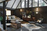 Фото 9 Дом-шалаш: обзор готовых дизайнерских проектов и 80 комфортных и современных реализаций