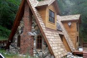 Фото 28 Дом-шалаш: обзор готовых дизайнерских проектов и 80 комфортных и современных реализаций