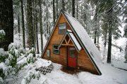 Фото 30 Дом-шалаш: обзор готовых дизайнерских проектов и 80 комфортных и современных реализаций