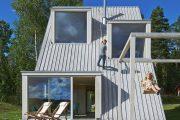 Фото 3 Дом-шалаш: обзор готовых дизайнерских проектов и 80 комфортных и современных реализаций