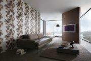 Фото 13 Виниловые обои на флизелиновой основе: обзор стильных вариантов для поклейки и 65 ярких дизайнерских идей