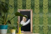 Фото 21 Виниловые обои на флизелиновой основе: обзор стильных вариантов для поклейки и 65 ярких дизайнерских идей