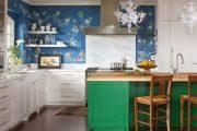 Фото 32 Виниловые обои на флизелиновой основе: обзор стильных вариантов для поклейки и 65 ярких дизайнерских идей