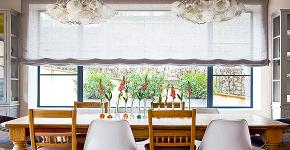 Карниз для римских штор: как выбрать, особенности монтажа и 70+ элегантных вариантов для дома фото