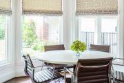 Фото 9 Карниз для римских штор: как выбрать, особенности монтажа и 70+ элегантных вариантов для дома