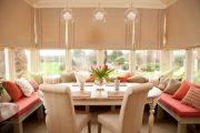 Фото 18 Карниз для римских штор: как выбрать, особенности монтажа и 70+ элегантных вариантов для дома