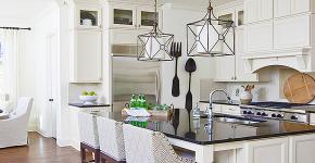 Классическая белая кухня: эстетика минимализма и 85 совершенных в своей простоте вариантов фото