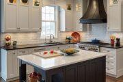 Фото 2 Классическая белая кухня: эстетика минимализма и 85 совершенных в своей простоте вариантов
