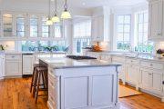 Фото 3 Классическая белая кухня: эстетика минимализма и 85 совершенных в своей простоте вариантов