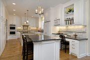 Фото 4 Классическая белая кухня: эстетика минимализма и 85 совершенных в своей простоте вариантов