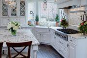 Фото 7 Классическая белая кухня: эстетика минимализма и 85 совершенных в своей простоте вариантов
