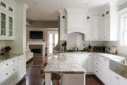 Фото 10 Классическая белая кухня: эстетика минимализма и 85 совершенных в своей простоте вариантов