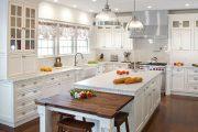 Фото 13 Классическая белая кухня: эстетика минимализма и 85 совершенных в своей простоте вариантов
