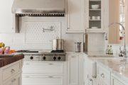 Фото 16 Классическая белая кухня: эстетика минимализма и 85 совершенных в своей простоте вариантов