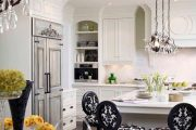 Фото 17 Классическая белая кухня: эстетика минимализма и 85 совершенных в своей простоте вариантов