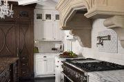 Фото 22 Классическая белая кухня: эстетика минимализма и 85 совершенных в своей простоте вариантов