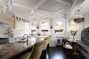 Фото 24 Классическая белая кухня: эстетика минимализма и 85 совершенных в своей простоте вариантов