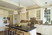 Фото 27 Классическая белая кухня: эстетика минимализма и 85 совершенных в своей простоте вариантов