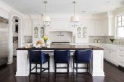 Фото 31 Классическая белая кухня: эстетика минимализма и 85 совершенных в своей простоте вариантов