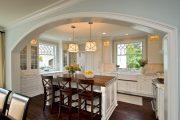 Фото 33 Классическая белая кухня: эстетика минимализма и 85 совершенных в своей простоте вариантов