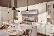 Фото 44 Классическая белая кухня: эстетика минимализма и 85 совершенных в своей простоте вариантов