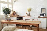 Фото 20 Белая кухня с деревянной столешницей: 70 лучших реализаций в стиле контемпорари, кантри и минимализм