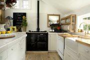 Фото 45 Кухня в деревянном доме: варианты зонирования и 85+ уютных дизайнерских решений