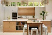 Фото 22 Кухня в деревянном доме: варианты зонирования и 85+ уютных дизайнерских решений
