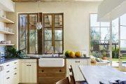 Фото 24 Кухня в деревянном доме: варианты зонирования и 85+ уютных дизайнерских решений