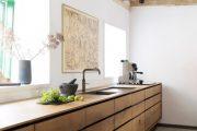 Фото 26 Кухня в деревянном доме: варианты зонирования и 85+ уютных дизайнерских решений