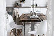 Фото 32 Кухня в деревянном доме: варианты зонирования и 85+ уютных дизайнерских решений