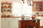 Фото 39 Кухня в деревянном доме: варианты зонирования и 85+ уютных дизайнерских решений