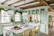 Фото 40 Кухня в деревянном доме: варианты зонирования и 85+ уютных дизайнерских решений