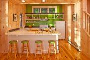 Фото 44 Кухня в деревянном доме: варианты зонирования и 85+ уютных дизайнерских решений